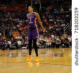 candace parker forward for the... | Shutterstock . vector #718203259