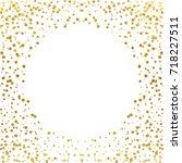 festive explosion of confetti.... | Shutterstock .eps vector #718227511