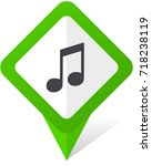 music web green square pointer...