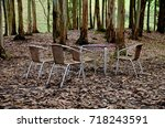 camping  | Shutterstock . vector #718243591