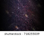 abstract halftone background.... | Shutterstock . vector #718255039