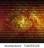 abstract halftone background.... | Shutterstock . vector #718255135