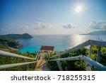 Scenery Of Beautiful Blue Ocea...