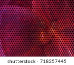 abstract halftone background.... | Shutterstock . vector #718257445