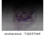 abstract halftone background.... | Shutterstock . vector #718257469