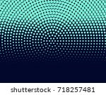 abstract halftone background.... | Shutterstock . vector #718257481