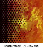 abstract halftone background.... | Shutterstock . vector #718257505