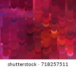 abstract halftone background.... | Shutterstock . vector #718257511