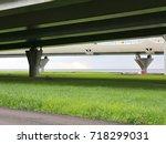 road overpass | Shutterstock . vector #718299031