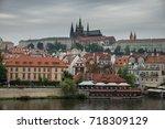 prague  czech republic.... | Shutterstock . vector #718309129
