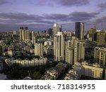 metropolis  ramat gan ... | Shutterstock . vector #718314955