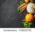 Group Of Vegetables   Pumpkins...
