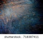 wood grunge rough background.... | Shutterstock . vector #718387411