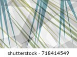 transparent white and gray... | Shutterstock . vector #718414549
