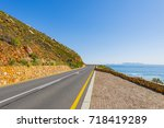 cape town  clarence drive  ... | Shutterstock . vector #718419289