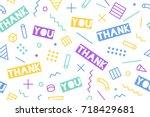 seamless pattern for... | Shutterstock .eps vector #718429681