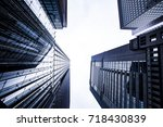 high rise building | Shutterstock . vector #718430839