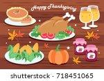 Cute Cartoon Thanksgiving For...