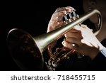 Trumpet Instrument. Music...