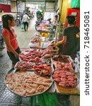 ho chi minh city  vietnam   aug ... | Shutterstock . vector #718465081