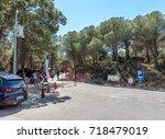 canakkale martyrs' memorial is...   Shutterstock . vector #718479019