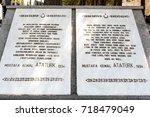 canakkale martyrs' memorial is...   Shutterstock . vector #718479049