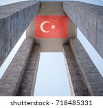 canakkale martyrs' memorial is...   Shutterstock . vector #718485331
