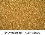 abstract glitter  lights... | Shutterstock . vector #718498507