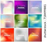 abstract creative concept... | Shutterstock .eps vector #718499881