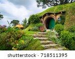 matamata  new zealand   dec 11  ... | Shutterstock . vector #718511395
