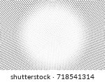 monochrome black and white... | Shutterstock .eps vector #718541314