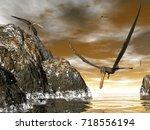 Anhanguera Prehistoric Birds  ...