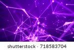 mystifying 3d rendering of some ...   Shutterstock . vector #718583704
