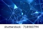 dreamlike 3d illustration of a... | Shutterstock . vector #718583794