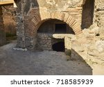 Roman Oven Of A Bakery Of...