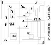 vector illustration of... | Shutterstock .eps vector #718593814