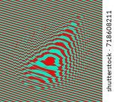 waveform background. dynamic... | Shutterstock .eps vector #718608211