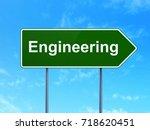 science concept  engineering on ... | Shutterstock . vector #718620451