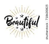 beautiful   fireworks   message ...   Shutterstock .eps vector #718630825