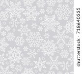 christmas seamless pattern with ...   Shutterstock .eps vector #718640335