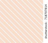 tile pastel and white stripes... | Shutterstock .eps vector #718707814
