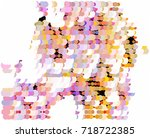 abstract background. spotted... | Shutterstock .eps vector #718722385
