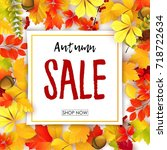 vector illustration of sale...   Shutterstock .eps vector #718722634