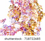 abstract background. spotted... | Shutterstock .eps vector #718722685
