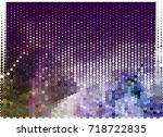 abstract background. spotted... | Shutterstock .eps vector #718722835