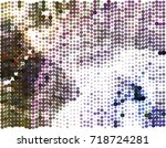 abstract background. spotted... | Shutterstock .eps vector #718724281