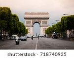june 5  2011 paris  france  ...   Shutterstock . vector #718740925