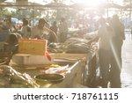 dubai  uae. january 6  2016 ...   Shutterstock . vector #718761115