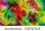 abstract colorful background ... | Shutterstock . vector #718767319