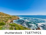cape town  clarence drive  ... | Shutterstock . vector #718774921